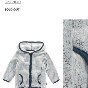 Splendid Baby Hooded Fleece Jacket 12-18mo